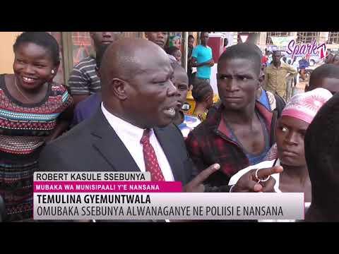 Omubaka Robert Ssebunya beezobye ne poliisi
