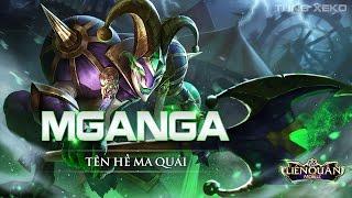 Hướng dẫn chơi Mganga bất tử rank Thách Đấu - Cách lên đồ - Lối chơi Mganga Tên Hề Ma Quái Liên Quân