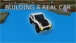building a big working car   ROBLOX Build A Boat For Treasure