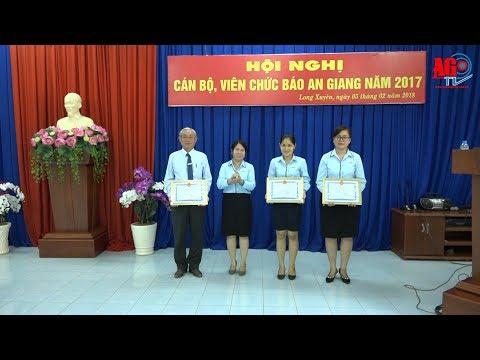 Hội nghị cán bộ, viên chức Báo An Giang năm 2017