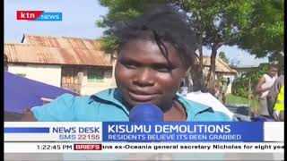 Families in Kisumu's Nubian estate left homeless after houses demolished by county