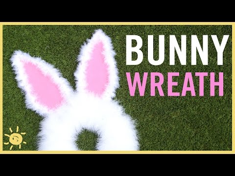 DIY | Easter Bunny Wreath