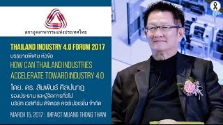 How can Thailand Industries Accelerate Toward Industry 4.0