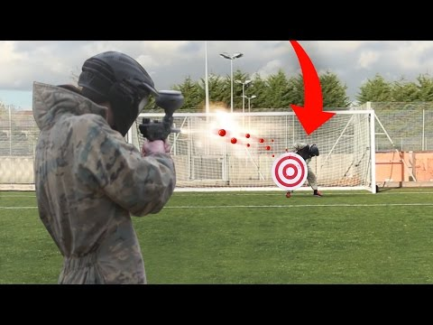 BRUTAL PAINTBALL FOOTBALL CHALLENGE