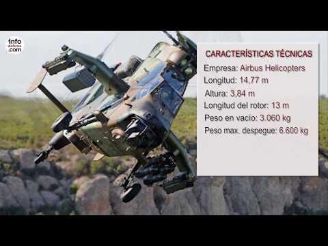 El Ejército de Tierra español ya tiene el último helicóptero Tigre