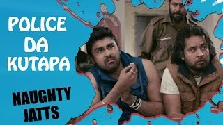 Police Da Kutapa - Arya Babbar With His Friends at Police Station | Best Punjabi Comedy Movies