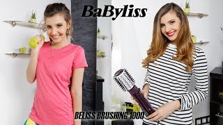 Larisa at the gym for BABYLISS BELISS BRUSHING 1000 by Larisa Costea