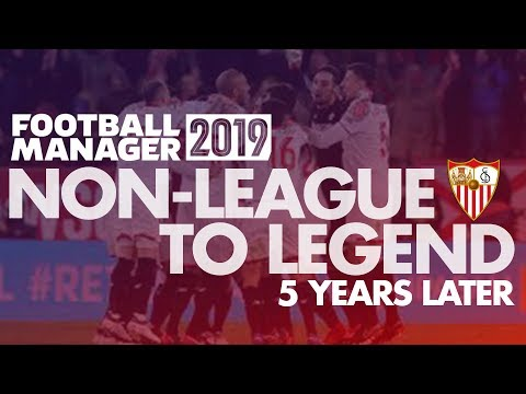 Non-League to Legend FM19 | 5 YEARS LATER | Football Manager 2019