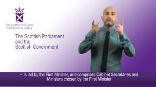 The Scottish Parliament & The Scottish Government