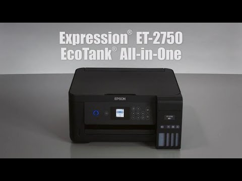 Expression Et 2750 Ecotank All In One Supertank Printer Inkjet Printers For Home Epson Us
