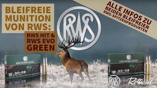Warum bleifreie Munition? Wir zeigen euch die Unterschiede zwischen RWS HIT und RWS EVO Green!