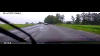 Дебильные олени на дороге