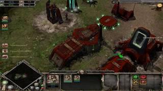 Warhammer 40,000: Dawn of War Soulstorm Захват базы Орков.