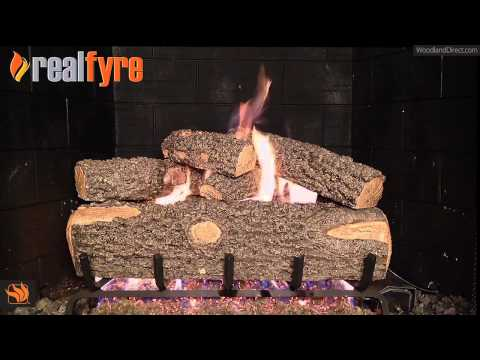 Real Fyre Woodland Oak Vented Gas Log Set