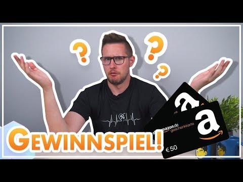 Gewinnspiel 💶 50 Euro Amazongutschein GEWINNEN