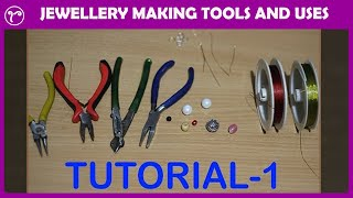 💖 Details Of Jewellery Making Tools  🛠  And Uses For Beginners |  DIY Handmade Jewellery