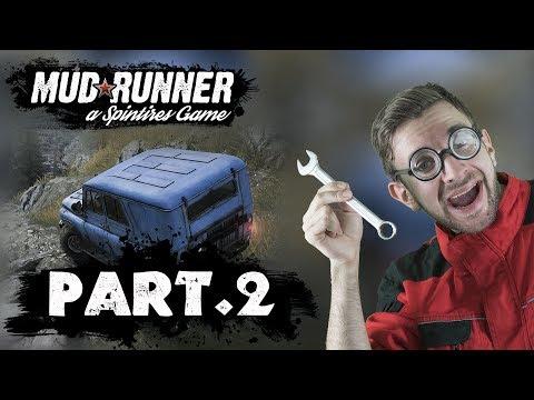 TERÉŇÁKEM PO SKALÁCH! | Spintires Mudrunner #02