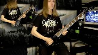 Children of Bodom - Kissing the Shadows (guitar cover)