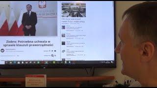 Z. Kękuś (PPP 259) Z. Ziobro, wyjaśnij sprawę śmierci swego i żony kolegi ś.p. Marka Podleckiego