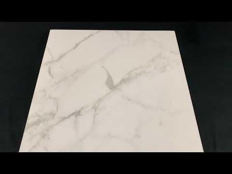 Gres szkliwiony CALACATTA EXTRA white mat 60,7x60,7 Golden Tile gat. I