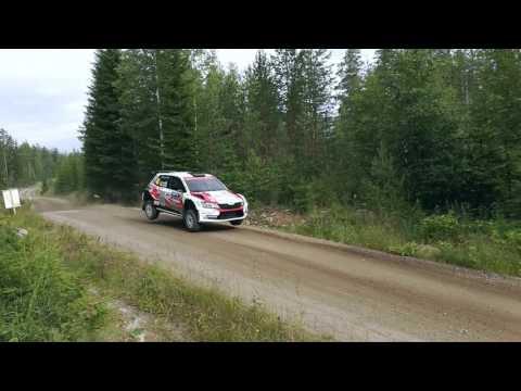Huttusen perjantai Neste rally finlandissa