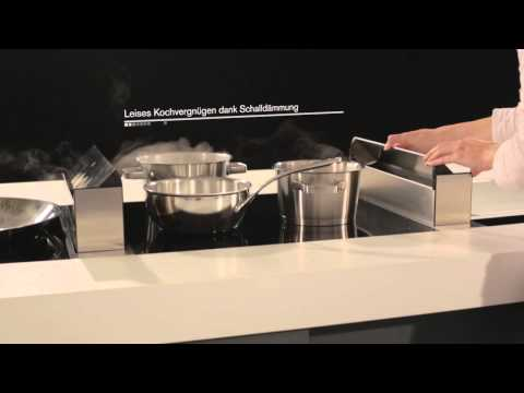 Novy UpSide Downair Dunstabzug  - ERGE Schweiz - Produktvideo