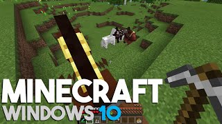 Minecraft Windows 10 Edition Let's Play: Horse Taming! (Episode 20)