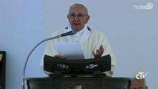 L'omelia di Papa Francesco in piazzale Kennedy a Genova