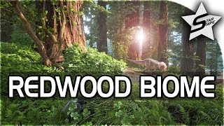 ARK: Survival Evolved REDWOOD FOREST BIOME GAMEPLAY! (NEW AWESOME BIOME !)