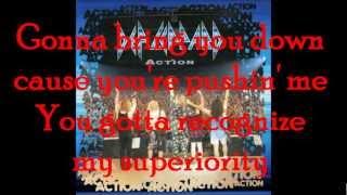 Action - Def Leppard (Lyrics)
