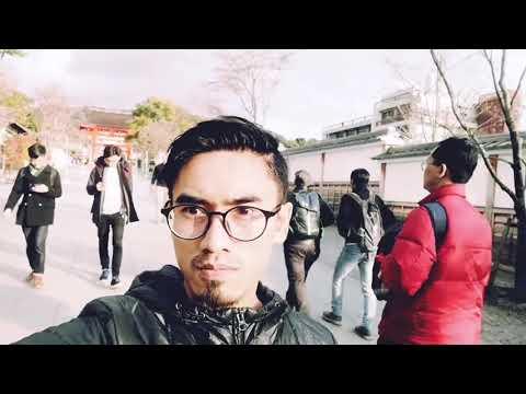 A trip to Osaka, Japan. January 2018