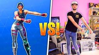Fortnite DANCES - REAL LIFE CHALLENGE!