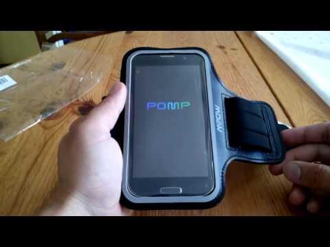 Smartphone Sport Armband Neopren  Armtasche Jogging 5 Zoll