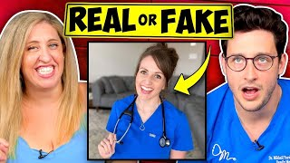 Real or Fake Doctor? | Doctor Challenges Comedian