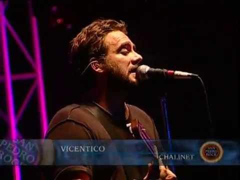 Vicentico video Chalinet - San Pedro Rock II / Argentina 2004