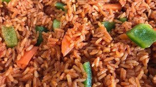 QUICKEST JOLLOF RECIPE EVER| MUST WATCH