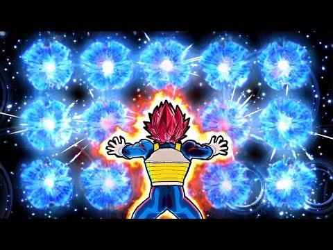 NEW EPIC VEGETA BIG BANG WALL SKILL! Dragon Ball Xenoverse 2 Custom Vegeta Raging Blast Skills