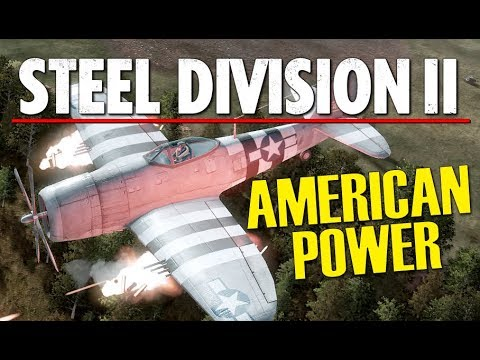 AMERICAN POWER! Steel Division 2 BETA Conquest Gameplay (Shchedrin, 4v4)
