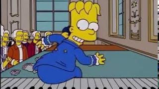 Mozart Y Salieri (Parte 1/3) Los Simpson