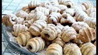 Вкусные печенье с начинкой.