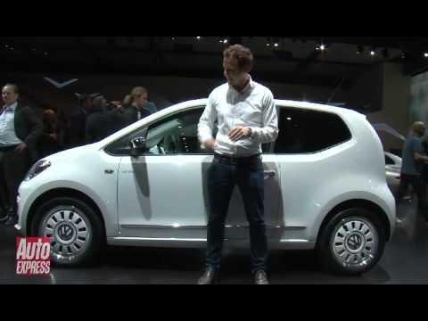 Frankfurt Motor Show 2011 Volkswagen up! - Auto Express