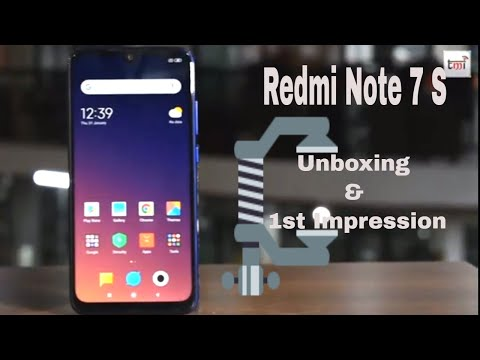 Xiaomi Redmi Note 7S: unboxing and 1st Impression
