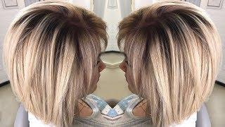 Варианты покраски волос в два цвета