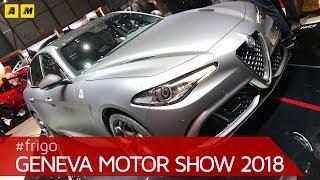 Alfa Romeo Stelvio Quadrifoglio Nring Edition Geneva Motor Show
