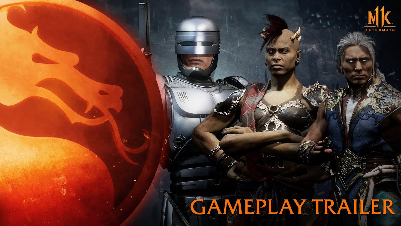 Геймплейный трейлер игры Mortal Kombat 11: Aftermath
