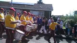 preview picture of video 'POMFB @ Morning Orange Walk in Motherwell 2013'