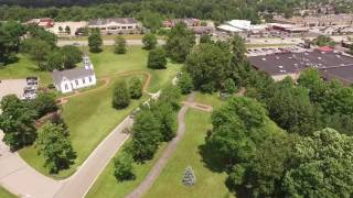 Flying drone in Cleveland and Youngstown