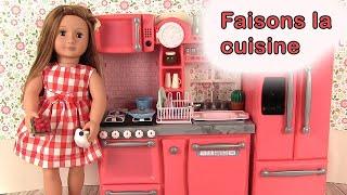 Cuisine Pour Poupée Our Generation Kitchen Set Jouets