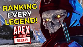 Ranking Every Legend In Apex Legends Season 4 From WORST To BEST! (Competitive Tier List)
