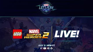 LEGO Marvel Super Heroes 2 LIVE!   Marvel Let's Play